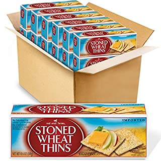 Red Oval Farms Stoned Wheat Thins Crackers, 12 - 10.6 oz Boxes