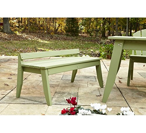 (Uwharrie Chair Co P097-82-Coffee-Dist-Pine Plaza 2-Seat Bench Without Back, Coffee-Distressed)