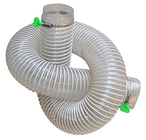 Gibbon 151100-3 Pvc Flexible HOSE Kit - 3Inch, - 3 Vacuum Hose