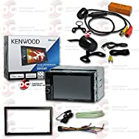 Kenwood Double DIN 2DIN 6.2 Touchscreen Car AM/FM DVD MP3 WMA CD Player USB Bluetooth with JDM 170° Rear view Back-up Camera