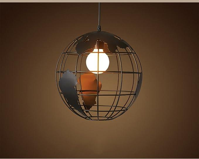 Plafoniere Industriali Vintage : Zdhlfyx metallo vintage sospensione lampadario retrò in