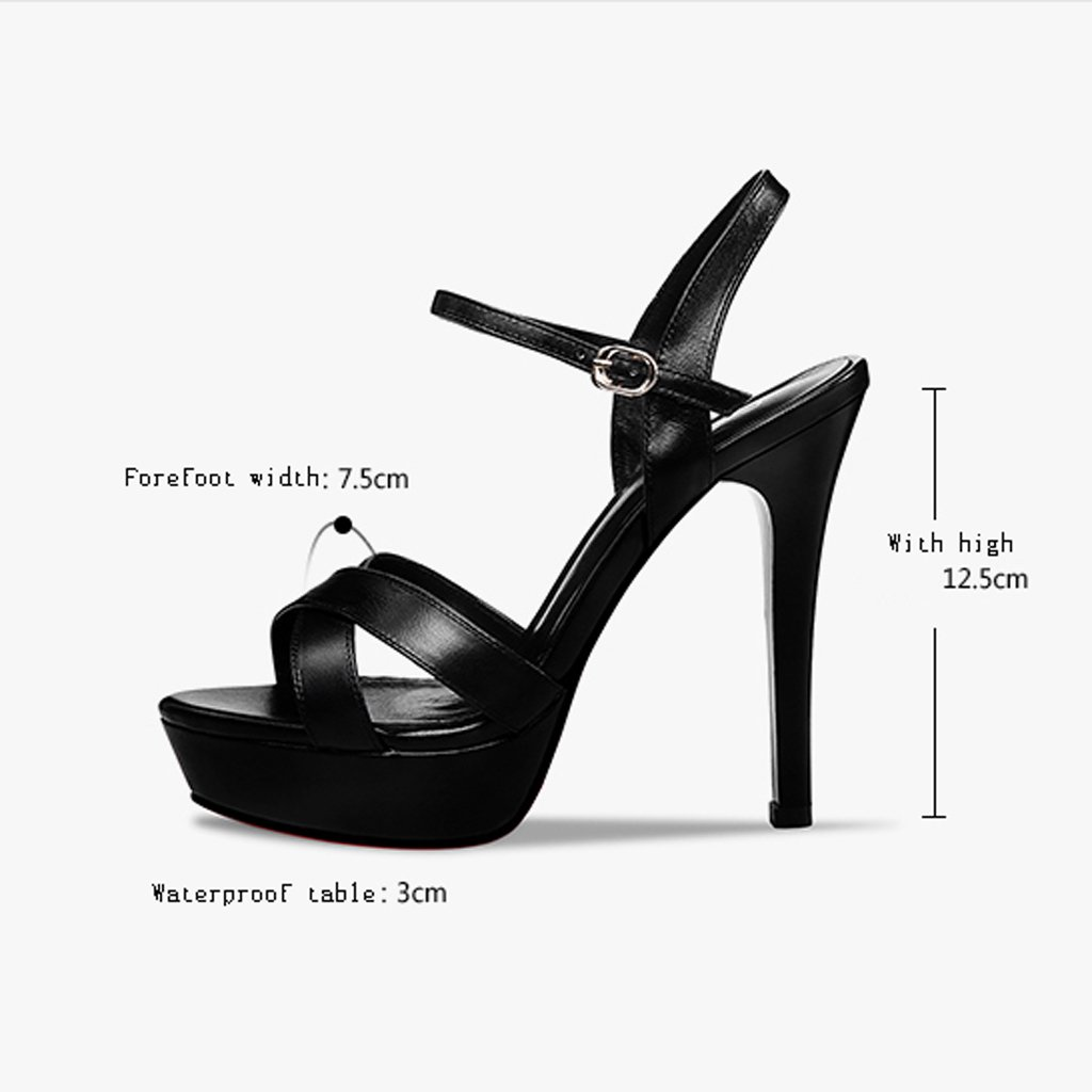 Chaussures à talons hauts Rainbow 2018 Nouveau, 12,5 cm