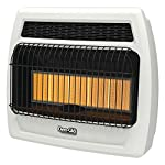 Dyna-Glo IRSS30NGT-2N 30,000 BTU Gas Infrared Vent Free Thermostatic Wall Heater, Natural Flame
