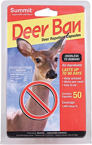 Summit Responsible SOLUTN 2001 50 Count Deer Ban Deer Repellent Capsules by SUMMIT BY WHITE MOUNTAIN