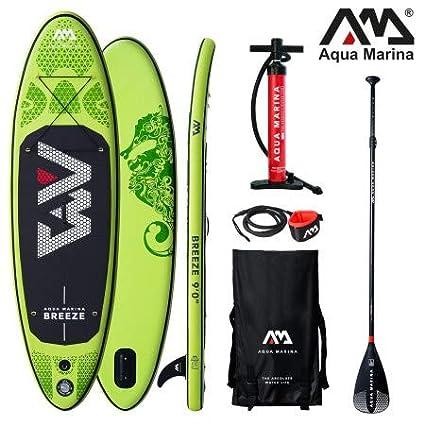 Aqua Marina Breeze 2019 Sup - Tabla de Surf (Hinchable ...