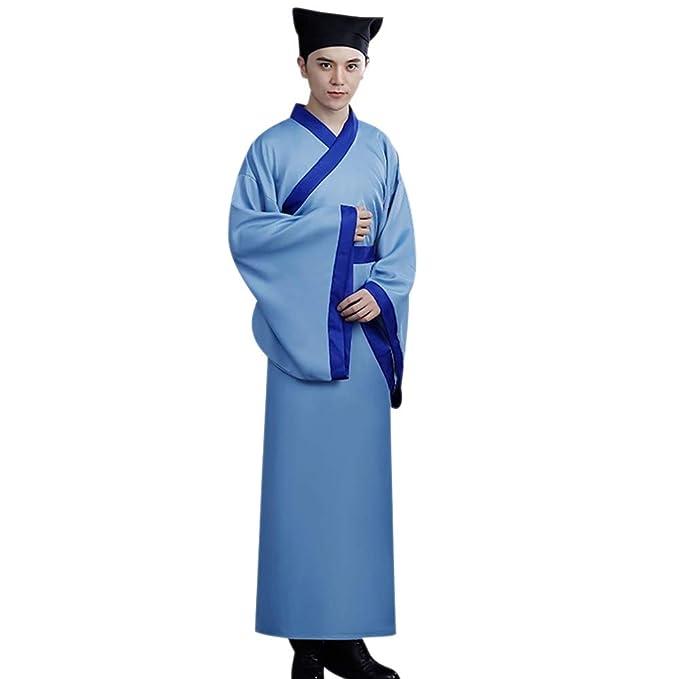 KINDOYO Traje Chino Tradicional - Hombres Clásico Elegante ...