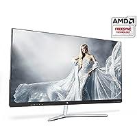 QNIX UNDERDOG QX2704 144 Slim & Zero 27 FHD (1920x1080) Gaming Monitor 144Hz / AMD Free Sync, Bezel-less Slim Design, Flicker Free, Low Blue Light