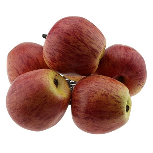 Gresorth 6 PCS Artificial Ornament Red Apples for Home House Party Christmas Decorative Model by Gresorth