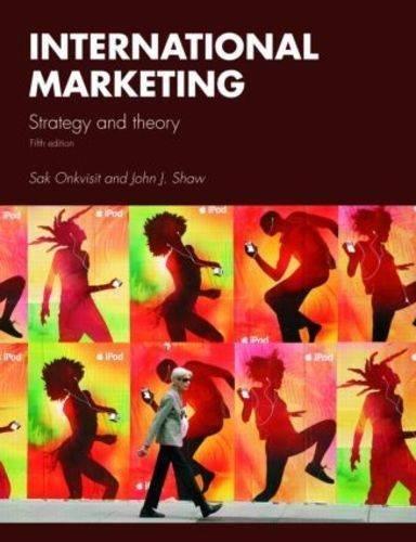 International Marketing: Strategy and Theory