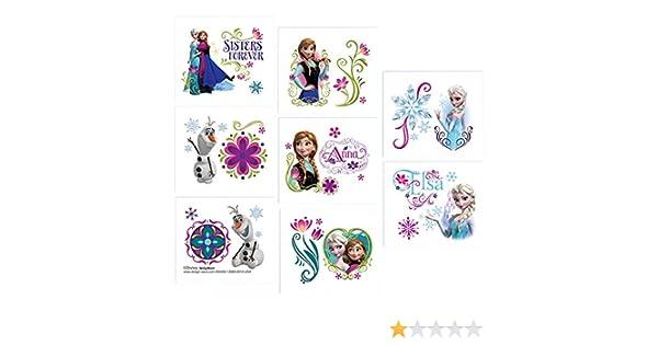 Disney Frozen tatuaje temporal: Amazon.es: Juguetes y juegos