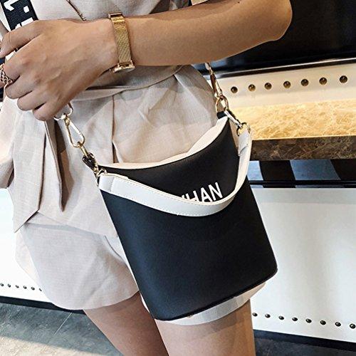 écologique Shopping d'été Plein à en Bandoulière Sac Marche à Portable Noir Air Populaire élégant Dames Sac Dexinx Main pYqaz8z