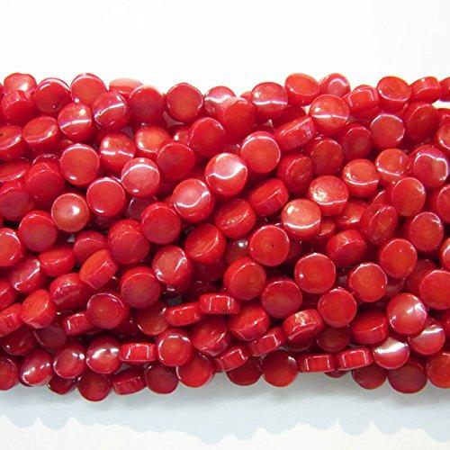 Round Black Coral Necklace - 5