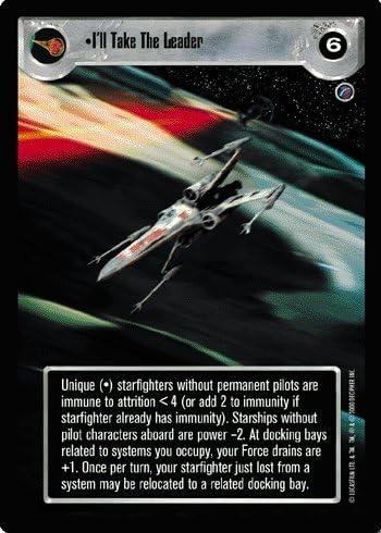 Star Wars SWCCG I/'ll Take the Leader Death Star II N//M