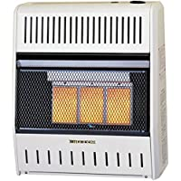 Procom ML150HPA Vent Free LP Gas Wall Heater - 3 Plaque, 15,000 BTU, Manual Control