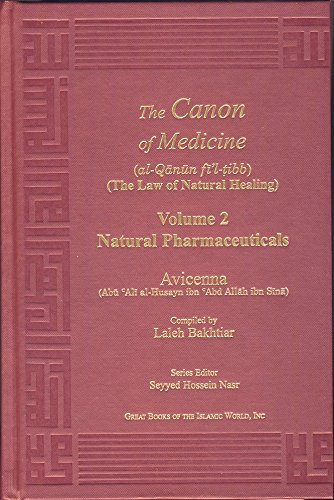 Avicenna Canon of Medicine Volume 2: Natural Pharmaceuticals