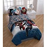 Marvel Captain America Civil War Twin Comforter and Sheet Set