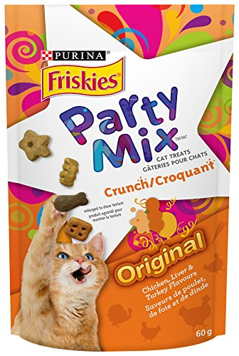 Purina® Friskies Party Mix® Cat Treats Nestle Purina Pet Care 055800115188