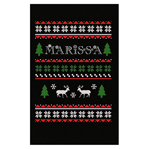 Prints Express Ugly Christmas Sweater for Marissa Great Funny Gift for The Holidays - Poster
