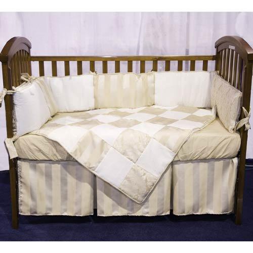 Baby Doll Bedding Gold Sensation Mini Crib/ Port-a-Crib Set, Gold by BabyDoll Bedding   B0033WTPPS