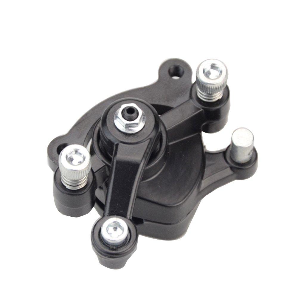 GOOFIT Front Disc Brake Cliper for 2 Stroke 47cc 49cc Pocket Bike Motovox MBX10 MBX11
