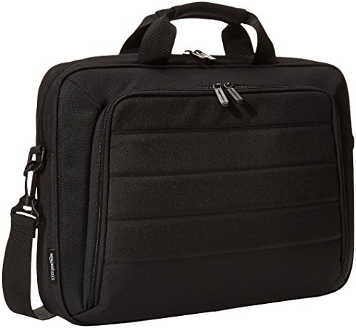 AmazonBasics 15.6 Inch Laptop and Tablet Case Shoulder Bag, Black
