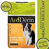 AvoDerm Natural Dry & Wet Dog Food, For Skin & Coat, Chicken & Rice Formula
