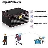 JXE JXO Faraday Key Fob Protector Box, Car Key