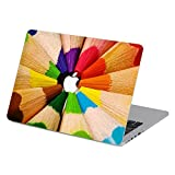 Customized Creative Flowing Color Series Colorful Crayon Special Design Water Resistant Hard Case for New Macbook 12 Inch with Retina Display (Model A1534)