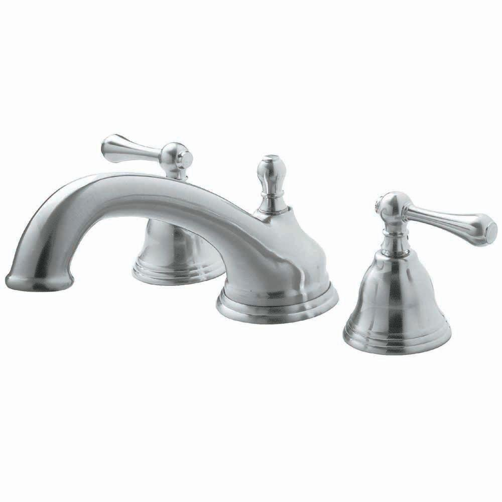 Pegasus FR2B5001BN 1000 Series Roman Tub Faucet, Brushed Nickel ...
