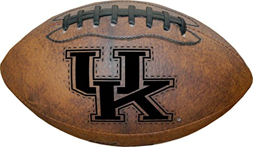 NCAA Kentucky Wildcats Vintage Throwback Football, 9-Inches