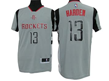 best loved a48e7 06a75 KoKo Shop Mens Houston Rockets #13 James Harden Grey Short ...