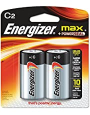 Energizer Max C 2-Pack C Cell