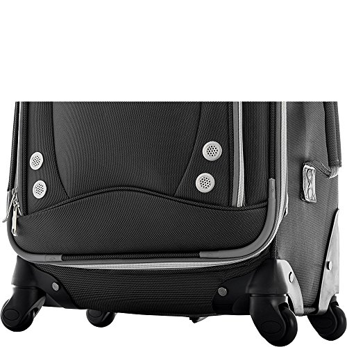 Olympia Luggage Skyhawk 22 Inch Expandable Airline Carry-On,Black,One Size by Olympia (Image #6)