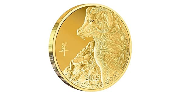 5 Roll of 2015-2 Ounce  Australian Silver Lunar Goat Australia Coin $2