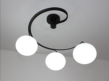 YANGFF-Luces de techo Lámparas de Techo Salón Dormitorio ...