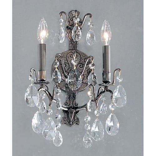 (Classic Lighting 9000 AB S Versailles, Crystal, Sconce/WallBracket, 5