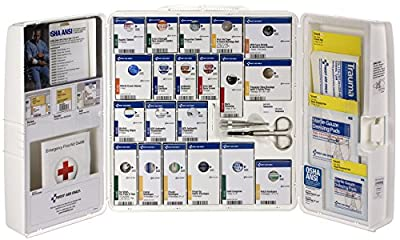 First Aid Only 90608 Large Plastic SmartCompliance First Aid Cabinet with Medications from Pac-Kit