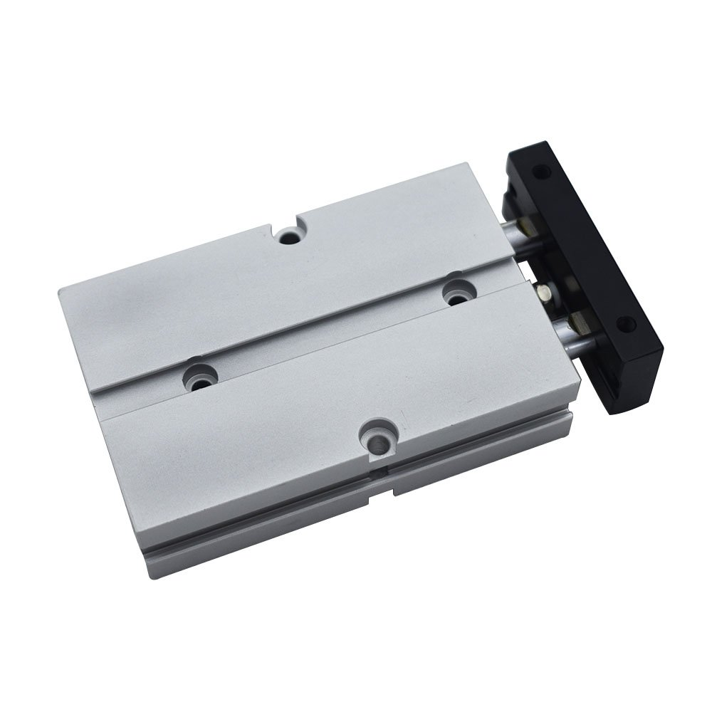 TN20x30 Aluminum Alloy TN Type Pneumatic Cylinder 20mm Bore 10//15//20//25//30//35//40//45//50//60//70//75//80//90//100//125//150mm Stroke Dual Rod Double Rod Air Cylinder