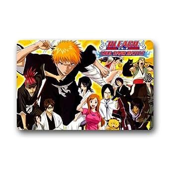 Decoración para el hogar personalizado Anime Bleach Felpudo 23,6(L) X 15,7(W)