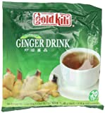 Gold Kili All Natural Instant Caffeine-free Ginger Drink, 20-Count Bags (Pack of 3)