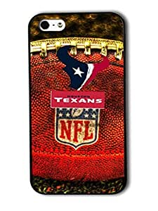 Tomhousomick Custom Design The NFL Team Houston Texans Case Cover For iPhone 4 4S Personality Phone Cases Covers