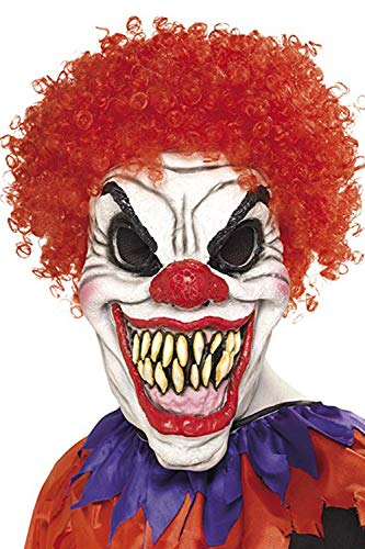 Scary clown mask.