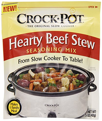Crock Pot Seasoning Mix, Hearty Beef Stew, 1.5 Ounce (Best Crockpot Beef Stew)