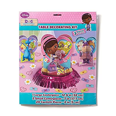 Doc McStuffins Table Decorating Kit (23 Piece): Toys & Games