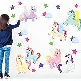 Chromantics Enchanted Unicorn Wall Decal Set - Unicorn Wall Decal By