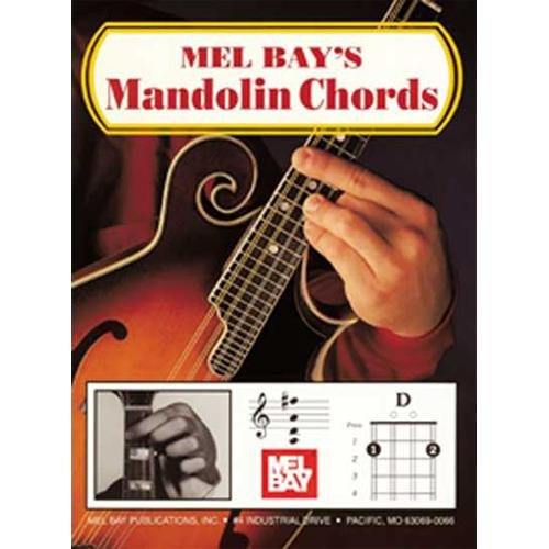 Mel Bay 93257 Mandolin Chords Book