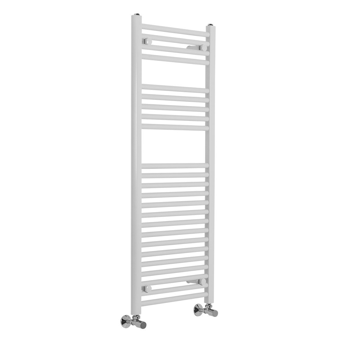 Contemporary Straight Heated Bathroom Towel Rail Radiator Rad 900 x 450 White WarmeHaus