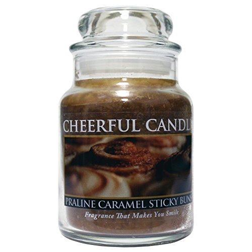 A Cheerful Giver Praline Caramel Sticky Buns Jar Candle, ...