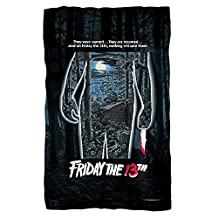 FRIDAY THE 13TH Movie Poster 36X58 Fleece Blanket