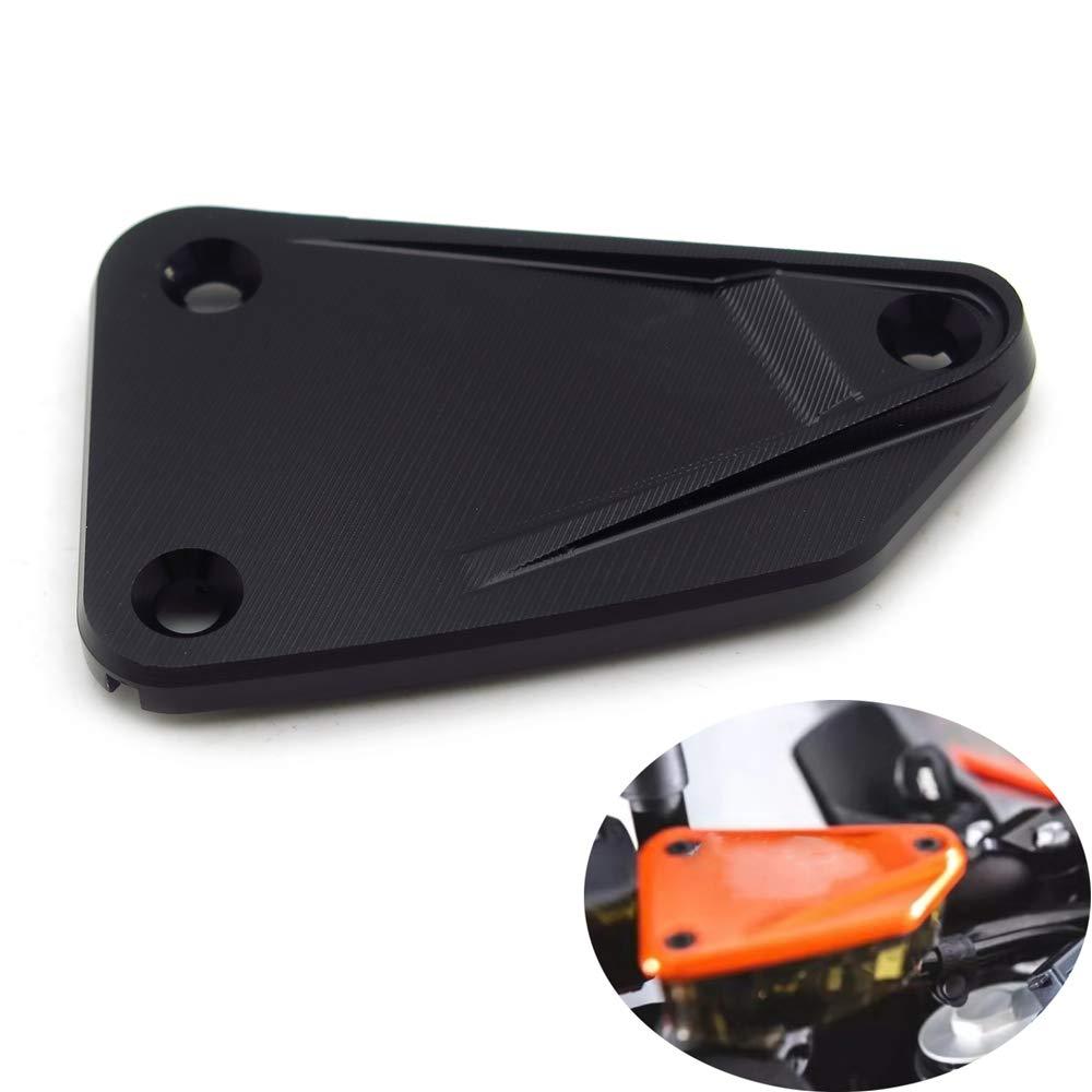 Front /& Rear Brake Fluid Reservoir Cover Cap Compatible with KTM DUKE 790 2018-2019 Orange SMT